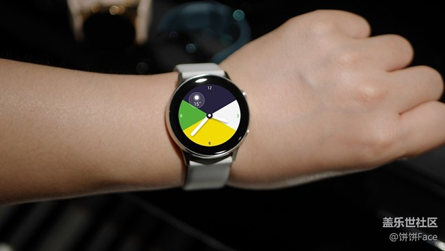 精致有型 三星Galaxy Watch Active美图赏