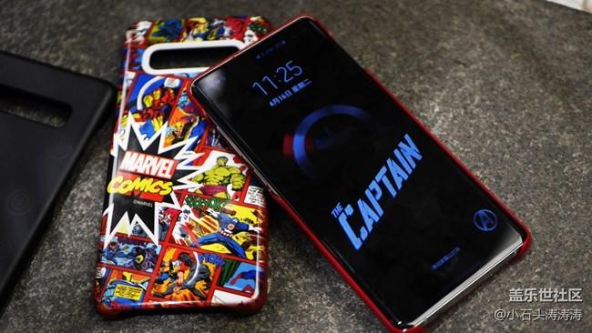 漫威定制版智能手机壳 Galaxy S10的小伙伴不容错过