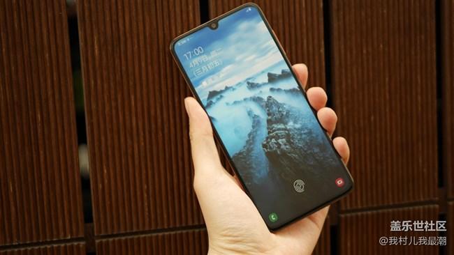 Galaxy A70绚丽U视屏 不间断的视觉体验