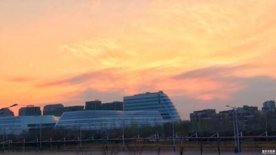 【夕阳下的风景】