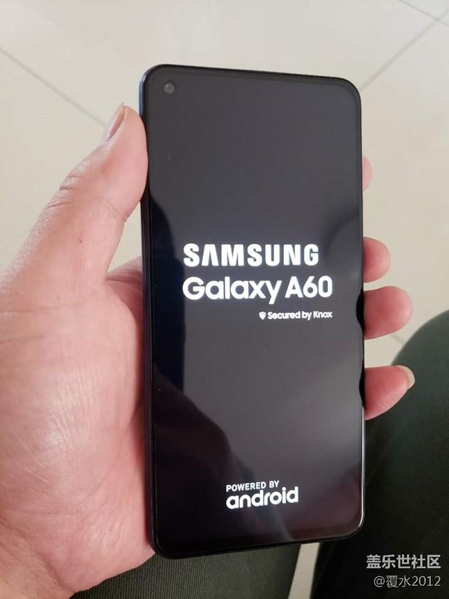 【三星网上商城A系列新品晒单】Galaxy A60 元气版