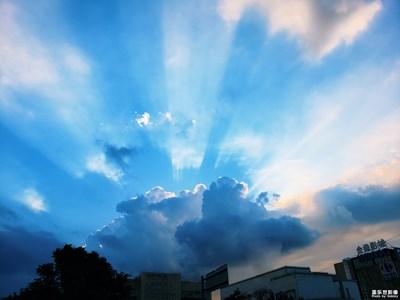 【天边的云】+云隙之光