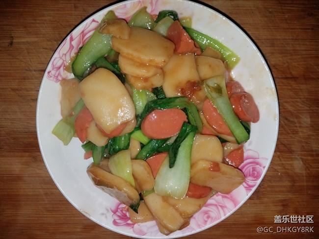 【温暖早餐】+ 青菜炒年糕