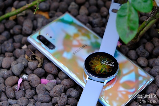 Galaxy Watch active2图赏