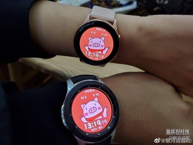 【12月智能配件活动】晒出你的Galaxy Watch智能手表表盘