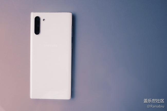 Galaxy Note10   开启截屏新时代