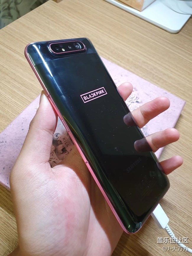 Galaxy A80 × BLACKPINK特别版