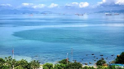【在夏日】巽寮湾的海水