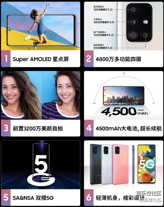 【A版块6月第1周话题活动】一起聊聊Galaxy A51 5G的亮点