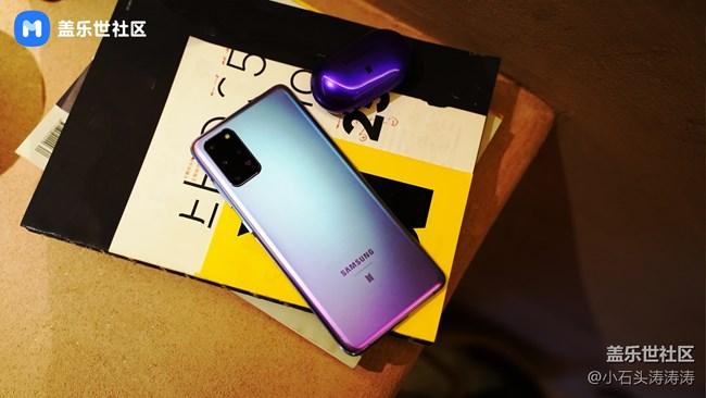 绚丽夺目小王�e紫 Galaxy S20+ 5G BTS定制版美图人赏