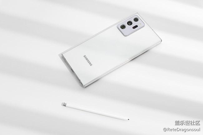 低调且精致的旗舰 Galaxy Note20 Ultra初露白美图赏