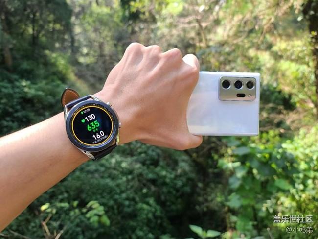 【Galaxy Watch3星粉体验团】八面玲珑,面面俱到