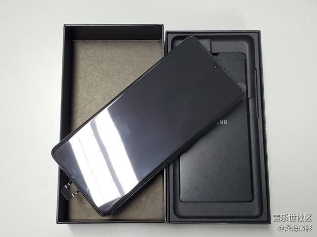 三星Galaxy S21 Ultra 5G【16+512黑】开箱大吉