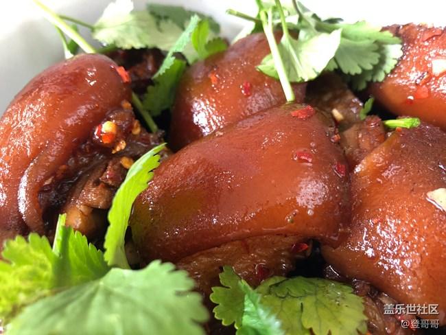 【登哥美食】红烧猪脚~满满胶原蛋白