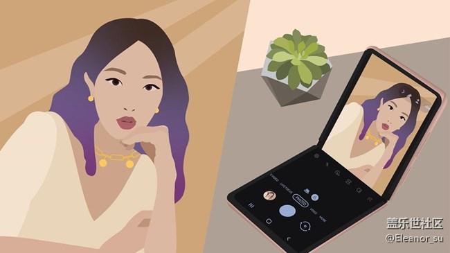 Galaxy Z Flip 5G: 当时尚与科技碰撞