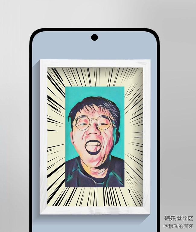 【图片编辑器】用手机给自己做一张抽象海报吧!