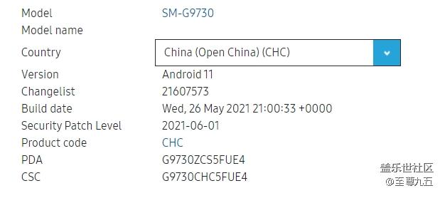 【6.14】Galaxy S10国行G9730ZCS5FUE4四件套