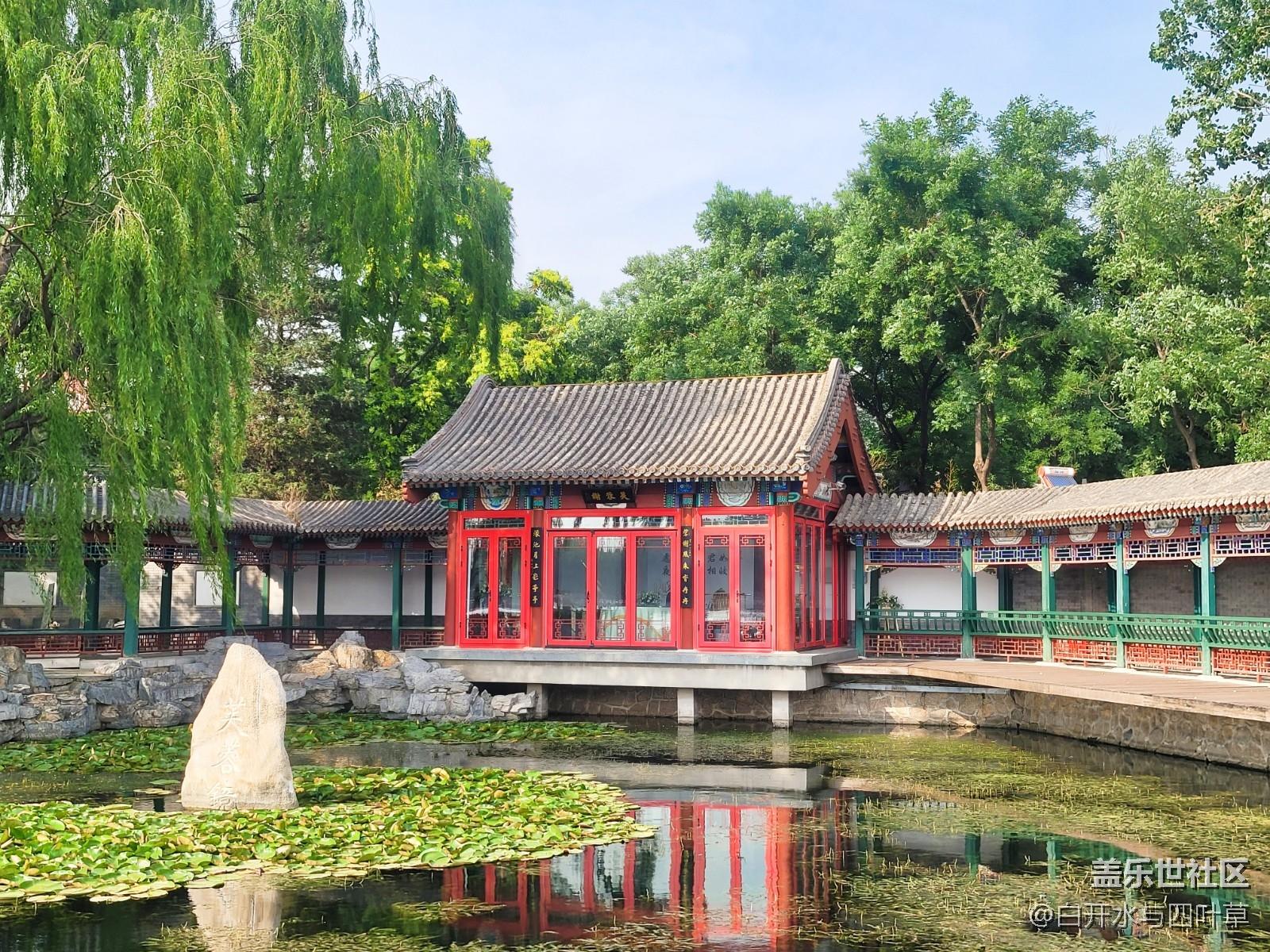 #北京网红打卡地——后海
