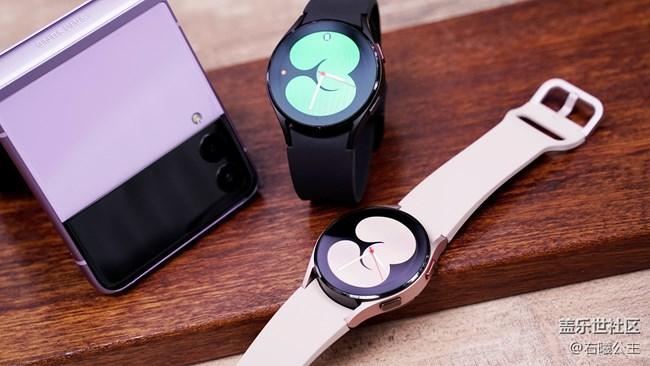 更贴心的智能手表 Galaxy Watch4系列美图赏