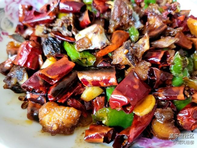 【假期美食】+美味下酒菜【干煸辣子鸡】